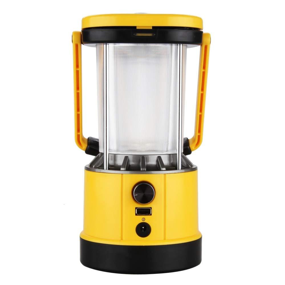 Portable Lantern Solar Camping LED Lights,5V USB Output for Cell Phone Charging 8Leds 2.2W Solar Panel for Hiking