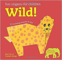 Fun Origami for Children: Wild!: 12 amazing animals to fold