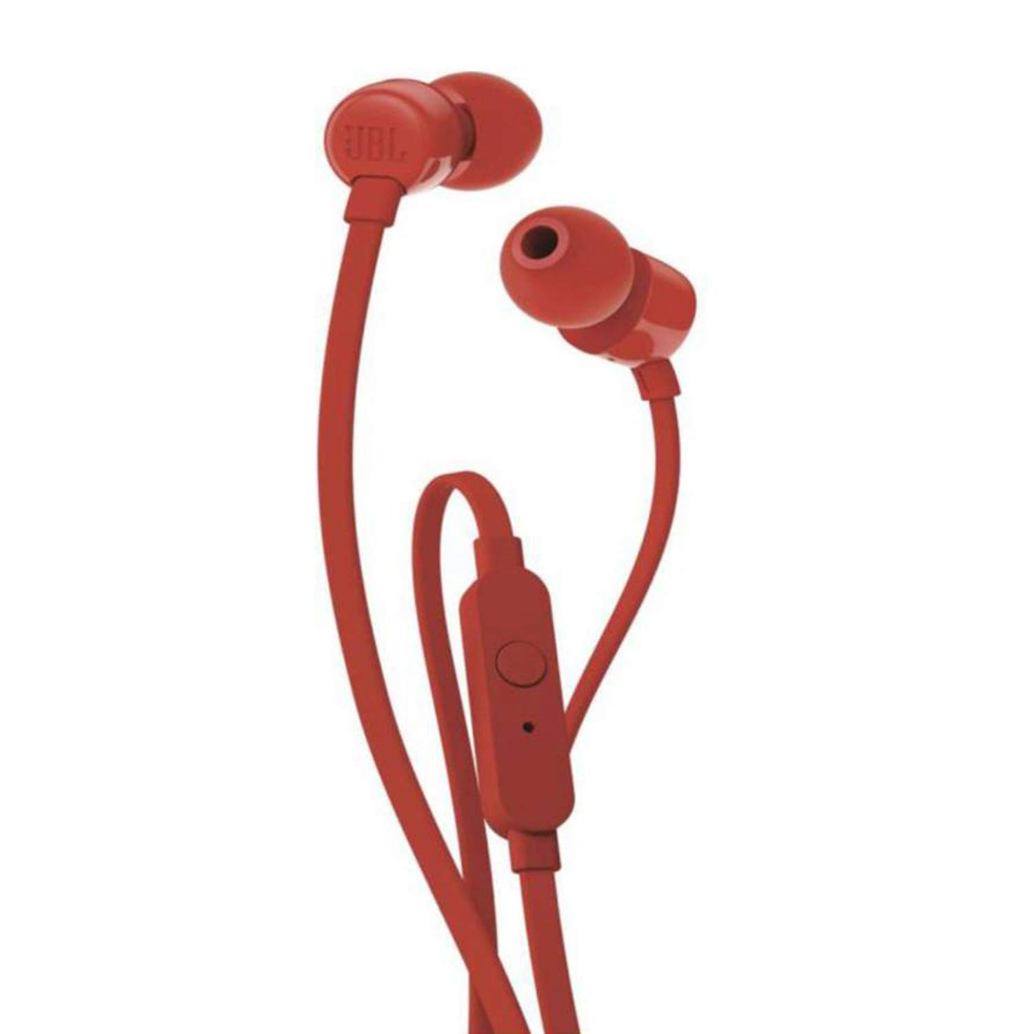 b6d3dbb53fd JBL T110 in-Ear Headphones with Mic (Red): Buy JBL T110 in-Ear Headphones  with Mic (Red) Online at Low Price in India - Amazon.in