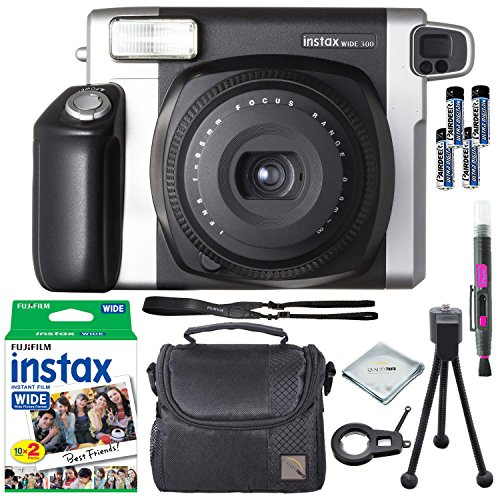 fujifilm instax wide 300 instant film camera instax wide instant film 20 exposures extra. Black Bedroom Furniture Sets. Home Design Ideas