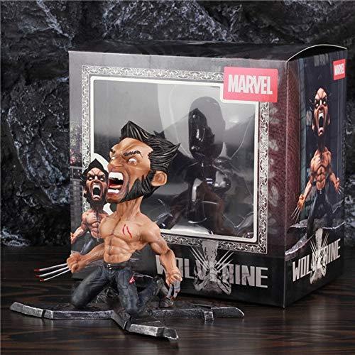 VIET FG X-Men Wolverine Logan 17Cm Figure Statue Anger Face X Men James Howlett Comic Movie PVC Model Toys Doll Ko'S Lbs Lb Studios Gk -Complete Series -