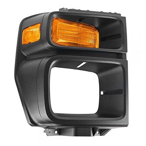 Headlight Trim Bezel w/Parking Turn Signal Light Lamp Passenger Right for E150
