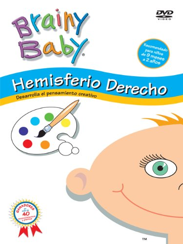 Brainy Baby Right Brain Dvd - Brainy Baby: Hemisferio Derecho (Spanish)
