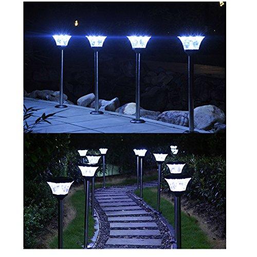 GONGYU éclairage Solaire extérieur à énergie Solaire Jardin lumière ...