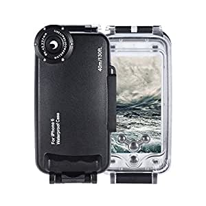 Yunchenghe 40 m Diving iProtect External waterproof case for iPhone 6 (4.7 inch) for underwater cases for underwater photos in black