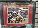 Carlos Hyde Signed Autograph 8x10 Framed Picture JSA Coa 49Ers