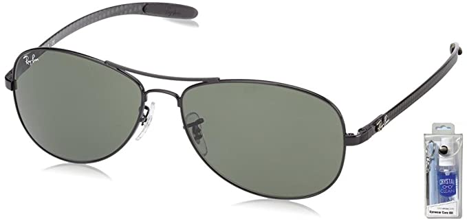 Amazon.com: Ray Ban anteojos de sol RB8301 Tech Fibra de ...