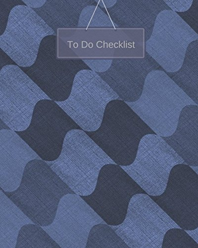 To Do Checklist (To Do Notebook)