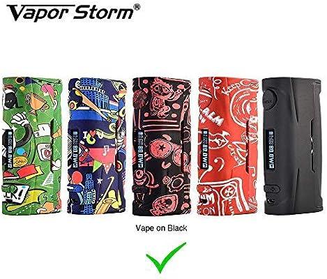 Vapor Storm Puma Baby 80W TC Box MOD OLED Display Cigarrillo electrónico exclusivo con cuerpo de graffiti Sin líquido E Sin nicotina (Vape): Amazon.es: Salud y cuidado personal