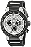 GV2 by Gevril Men's 8204 Novara Analog Display Swiss Quartz Black Watch