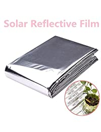 Shoppy Star Plant PETP Reflective Film Garden Greenhouse Grow Light Accessories Foldable Conservatory Special Cloth: Silver