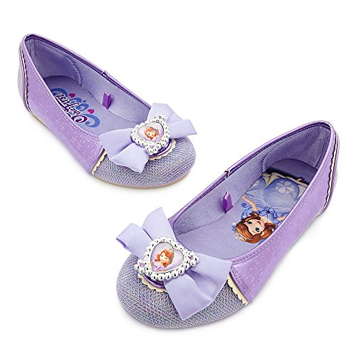 [Disney Store Deluxe Sophia The First Costume Shoes Size 9 - 10 M US Toddler 2016] (Sofia The First Dress Up Costume)
