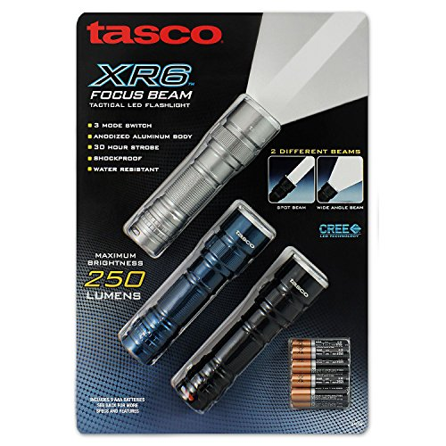 Price comparison product image Product of Tasco XR7 Focus Beam Flashlight (3-pk.) - All Flashlights [Bulk Savings]