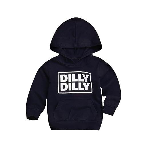d4048cd4b Amazon.com  Toddler Baby Boys Girls Sweatshirts Hoodie Tops Kids ...