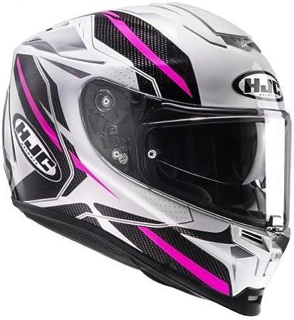 White//Pink HJC RPHA 70 DIPOL MC8 Motorcycle Helmet Size M