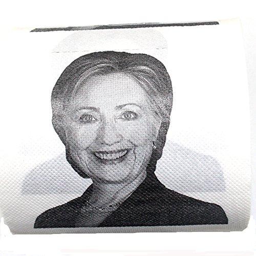 Hillary Clinton Toilet Paper, Novelty Political Gag Gift (1)