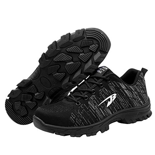Optimal Steel Black Safety Shoes Toe 2 Shoes Shoes Men's Work XrgX7q