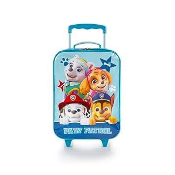 Amazon.com: Heys Paw Patrol Niños Basic lado suave equipaje ...