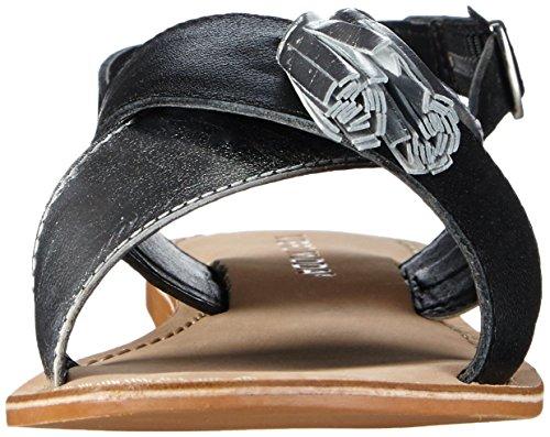Vero Moda VMCATJA LEATHER SANDAL - Sandalias Mujer Varios Colores - Mehrfarbig (Black)