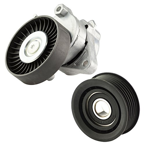 Bapmic 1122000970 Belt Tensioner and Idler Pulley for Mercedes Benz S350 E320 C280