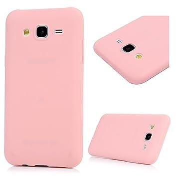 MAXFE.CO Funda para Samsung Galaxy J5 2015 (5.0 Pulgadas) Carcasa Silicona TPU Ultra Fina Slim (NO para Samsung Galaxy J5 2016) Alta Resistencia a los ...