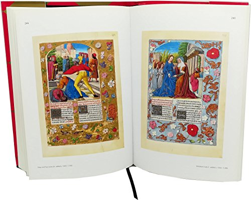 THE ISABELLA BREVIARY | Deluxe Edition Art Book: Silk Bound, Hardcover, Dust-jacket | 352 pages | 9x13 in | 33x23 cm | All illuminations in full-colour explained | Medieval Illuminated Manuscripts
