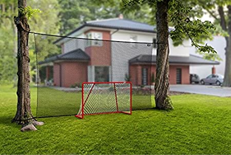 Acon Wave 500 Backstop Net | Very Durable Heavy Duty 0.12 inch Nylon Net | 16 ft x 9 ft | UV-Treated