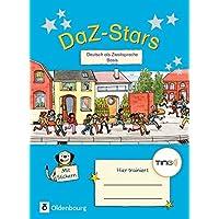 DaZ-Stars - TING-Ausgabe: Deutsch als Zweitsprache - Basis: Übungsheft. Mit Lösungen