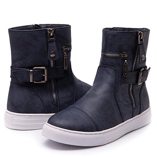 Womens GLOBALWIN 1635 FALL/Winter Fashion Boots 1635navy