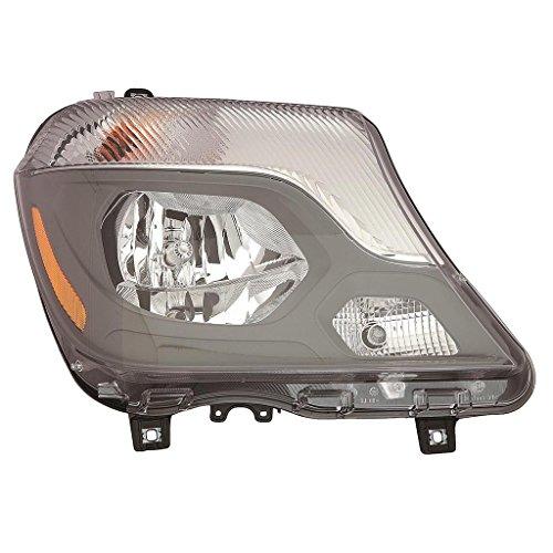 Fits Mercedes Benz Sprinter Foglight Sprinter 2014-2015 Headlight Assembly Halogen Type Passenger Side (NSF Certified) MB2503221N