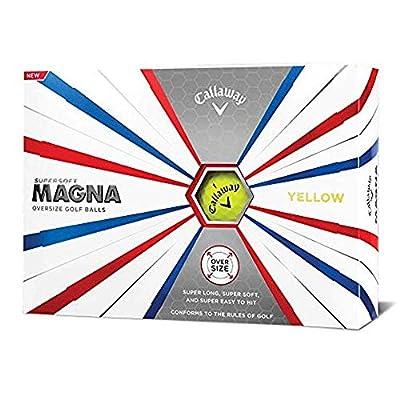 Callaway Golf Supersoft Magna Golf Balls, (One Dozen) from Callaway