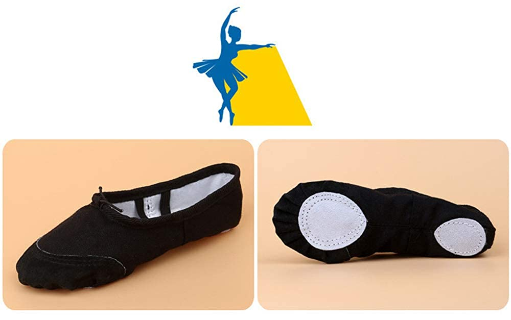 Black-EU 25//8 M US Toddler YSNJL Toddlers Lucky Ballet Flat