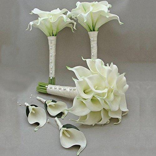 luyue calla lily bridal wedding