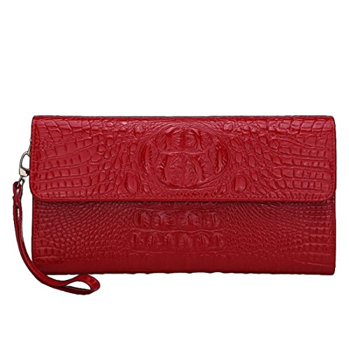 YYW purses for women - Cartera para mujer  Mujer Rosso