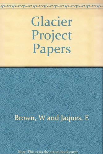 Glacier Project Papers