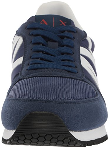 Fashion A Peony X Men Retro Navy Exchange Armani Sneaker Running zzrdYwq