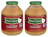 White House All Natural Apple Sauce Cinnamon, 50.0 OZ (Pack of 2)