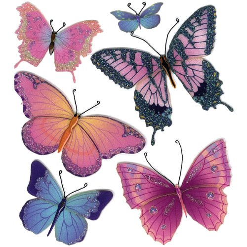 - Jolee's Boutique Butterflies Dimensional Stickers