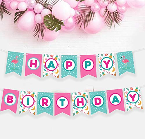 FLAMINGO HAPPY BIRTHDAY BANNER - Flamingo Party Supplies Pineapple Party Decorations Pineapple Decorations for Party Flamingo Party Flamingo Decorations Flamingo Party Decorations Flamingo Pinata Pineapple Birthday Decorations Pink Flamingo Party Supplies Flamingo Pineapple Party Supplies Flamingo Birthday Banner Flamingle Party Supplies Pinata Pineapple Lets Flamingle Banner Flamingo Pineapple flamingo happy birthday banner pineapple flamingo pineapple birthday party -