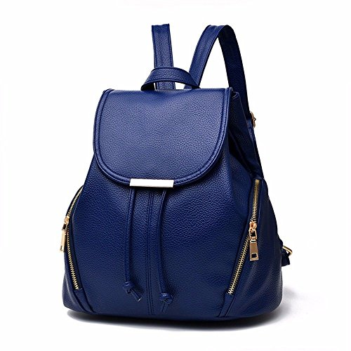 Trend Sac à Sac Sac Royal MSZYZ Bandoulière Femme Bleu Fashion Dos à cYnn6dPq