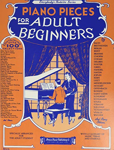 Piano Pieces for the Adult Beginner, No. 251 Paperback – September 1, 2000