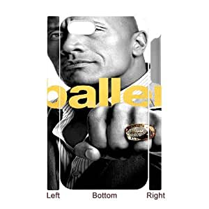 The Brink and Ballers iPhone 4 4s Cell Phone Case 3D 53Go-014874