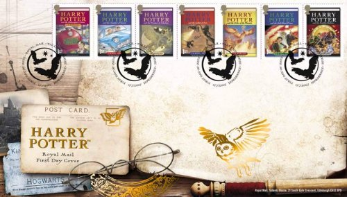 Harry Potter Royal Mail First Day Cover 7 Stamps -