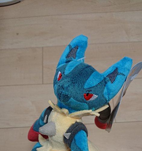 Pokemon Center Mega Lucario Plush, 11-Inch