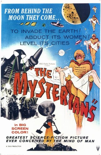 The Mysterians Poster Movie 11x17 Kenji Sahara Yumi Shirakawa Takashi Shimura Sahara Movie Poster