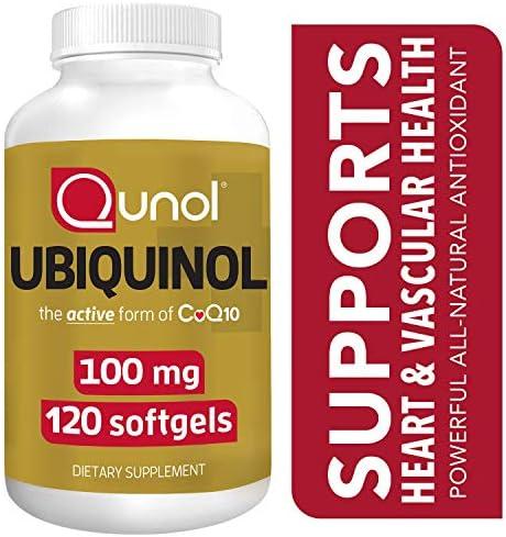 Qunol Ubiquinol Antioxidant Production Supplement product image