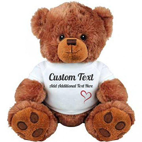 Cute Teddy (Cute Custom Teddy Bear Gift: Medium Plush Teddy)