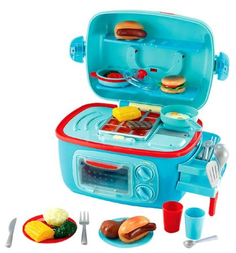 Amazon.com: Early Learning Centre Mini Sizzlin Kitchen: Toys & Games