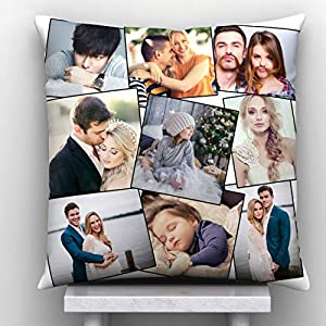 9 Photos Personalized Cushion 1