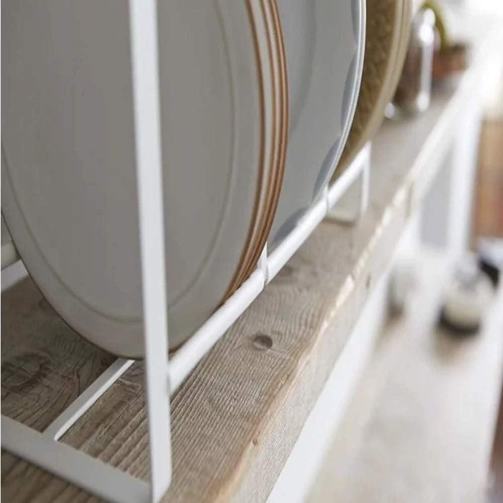 Platos de encimeras Estante de Almacenamiento de Cocina Gpzj Estante para Platos Estante de Platos estantes de despensa Cocina para gabinetes